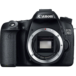 Canon EOS 70D Digital SLR Camera Body Only Daily Rental $75.00 Weekly Rental $300.00