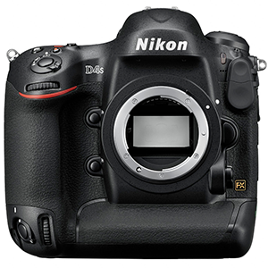 Nikon D4s Digital SLR Camera (Body Only) Daily Rental $150.00 Weekly Rental $600.00