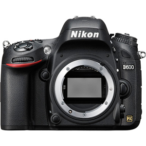 Nikon D600 Digital SLR Camera (Body Only) Daily Rental $100.00 Weekly Rental $400.00