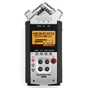 Zoom H4N Audio Recorder Daily Rental $25.00 Weekly Rental $100.00