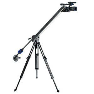 CobraCrane Backpacker Jib   Includes: MVH502A with 546B Pro Video Tripod. Camera Capacity 6.5 lbs. Maximum Crane Height (on a 5' tripod) 8 Feet. Length from pivot 3 feet  Daily Rental $45.00 Weekly Rental $180.00
