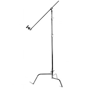 "Matthews C-Stand   Includes: Arm & Knuckle. Available in 40"" or 20"" Riser  Daily Rental $5.00 Weekly Rental $20.00"