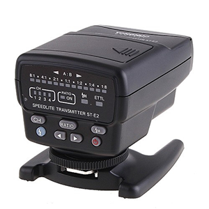 ST-E2 Remote Infrared remote trigger for Canon Speedlights   Daily Rental $10.00 Weekly Rental $40.00