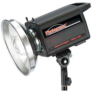 Photogenic 1250DR 500 Watt Monolight Includes: monolight, stand & umbrella. Daily Rental Rate $25.00 Weekly Rental Rate $100.00