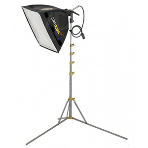 "Lowel Rifa 88 1000 Watt Tungsten Light 32""x32"" Soft Box Includes: Stand Daily Rental $25.00 Weekly Rental $100.00"