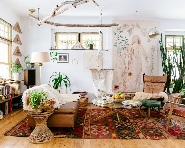Even Though I Havent Gone Fully Bohemian In Our Own House Have Definitely Tried To Incorporate Some Elements Of This Style Most The Rooms