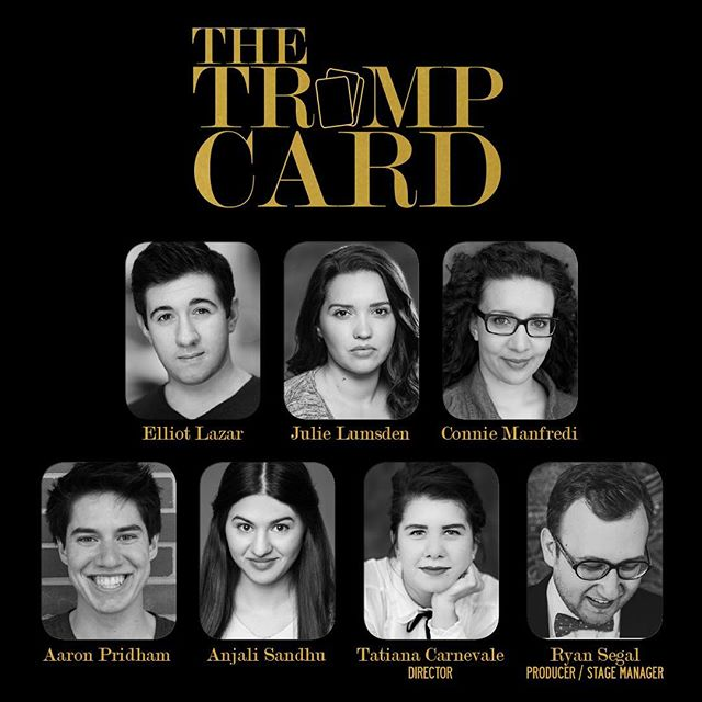 The collaborators, adaptors, performers, creative team and hot glue gun wizards behind The Trump Card. Opening on Thursday at 3:30 pm at Venue 4: Pantages Mainstage. Grab your tickets soon to ensure you don't miss out! #wpgfringe