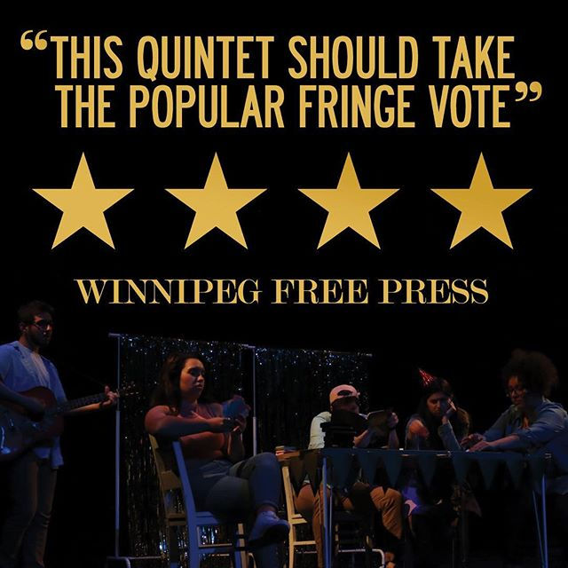 ⭐️⭐️⭐️⭐️ from the Free Press! http://www.winnipegfreepress.com/special/fringe/reviews/the-trump-card-435176223.html #wpgfringe
