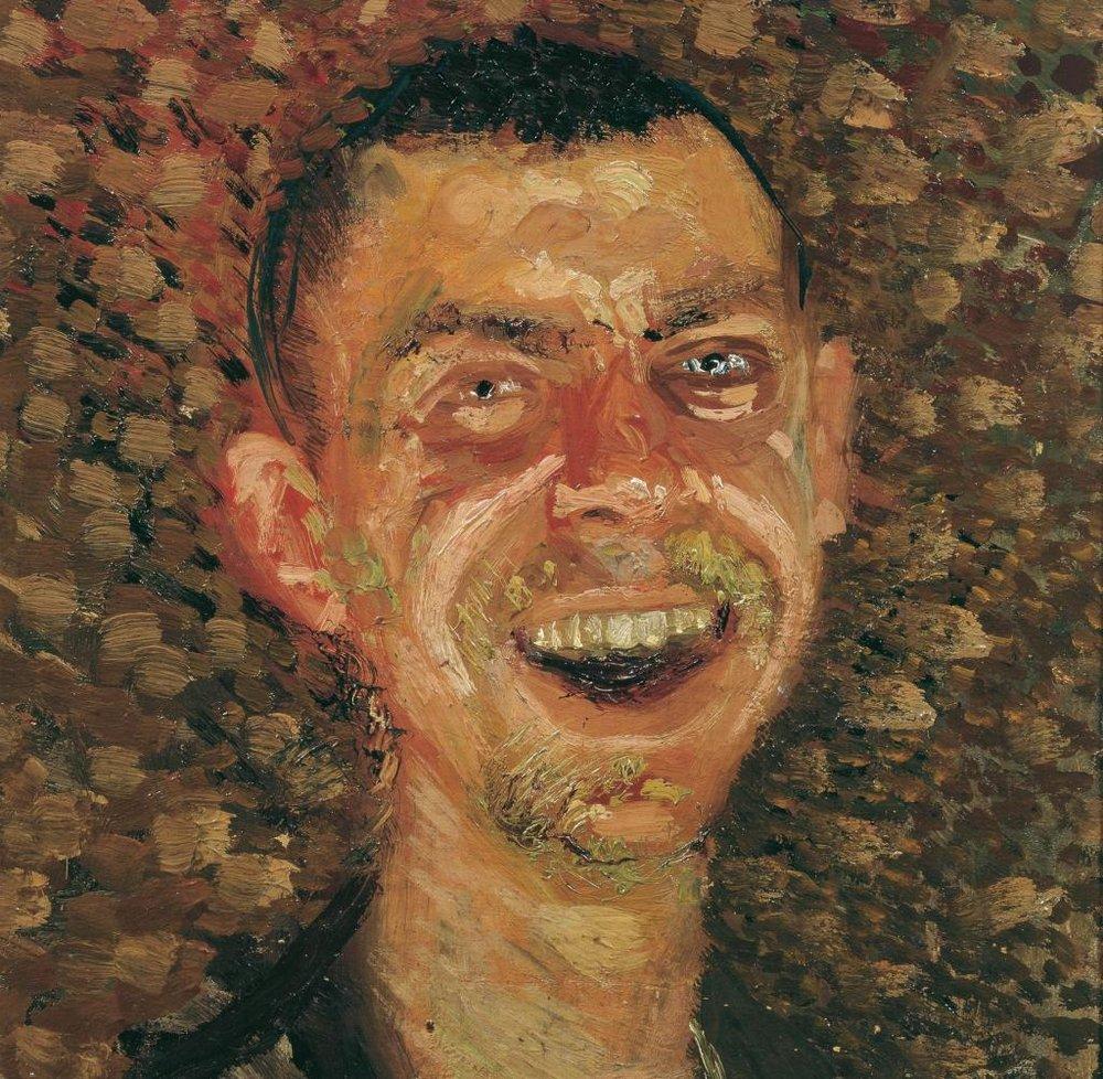 Self-portrait by Austrian painter Richard Gerstl (1883—1908)