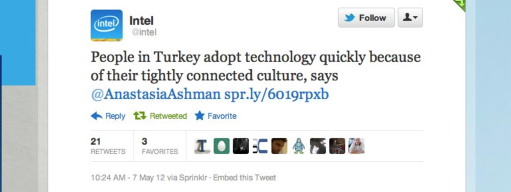 Thanks to  Ken E Kaplan  for interviewing me about how tech and Turkish culture come together!