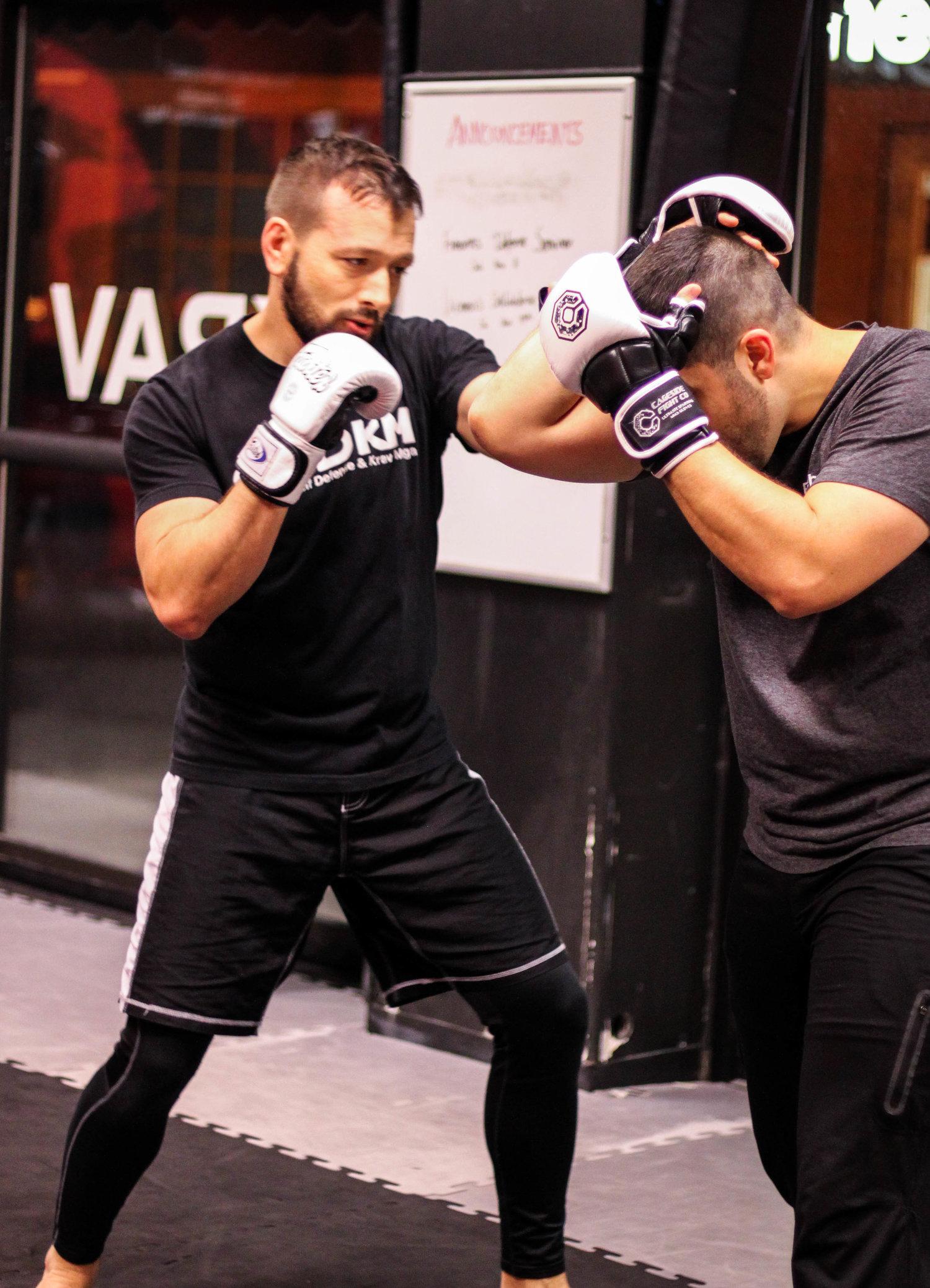 Private Lessons — Carolina Self Defense & Krav Maga