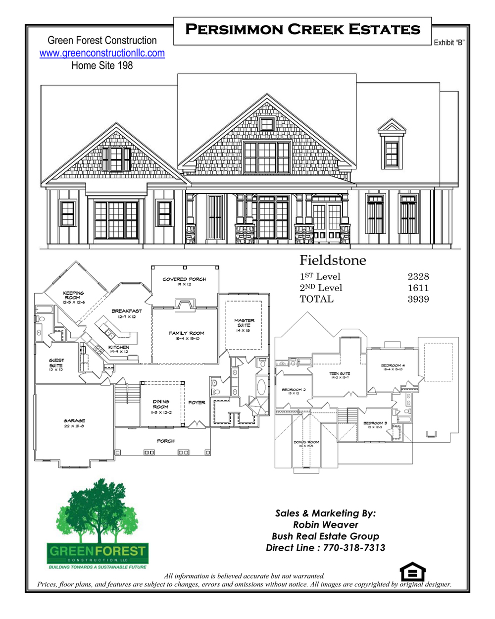 persimmon creek estates u2014 green forest construction