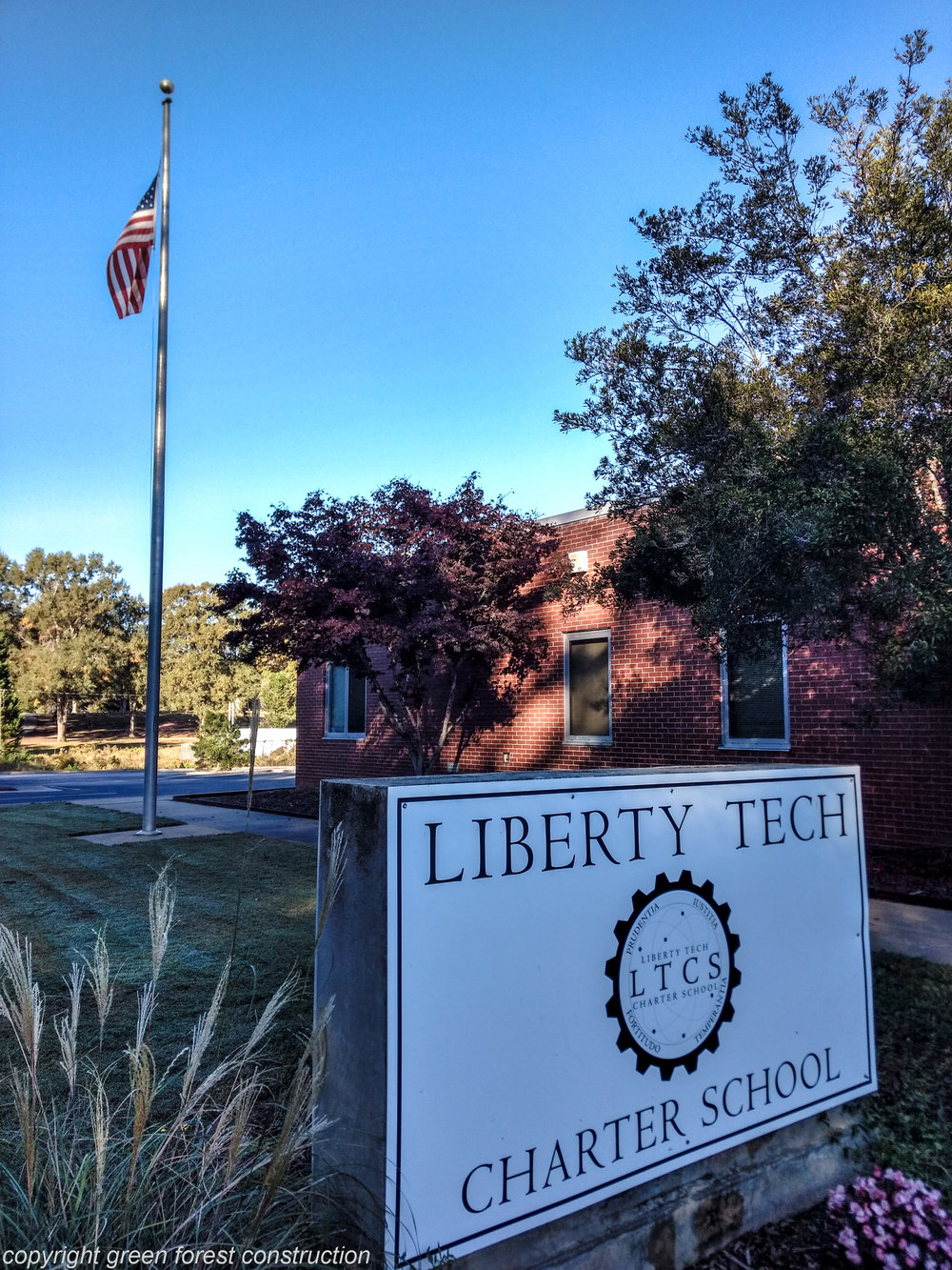 Liberty Tech Charter School (near downtown brooks)