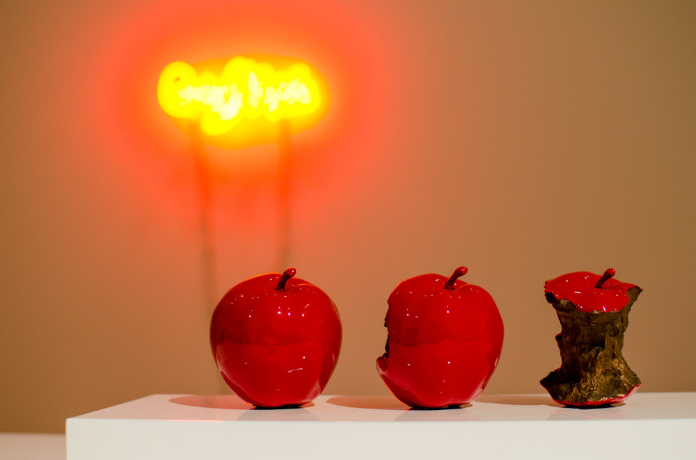 Billy Apple @ Auckland Art Gallery 2015 (2 Minutes 33 Seconds (Red))