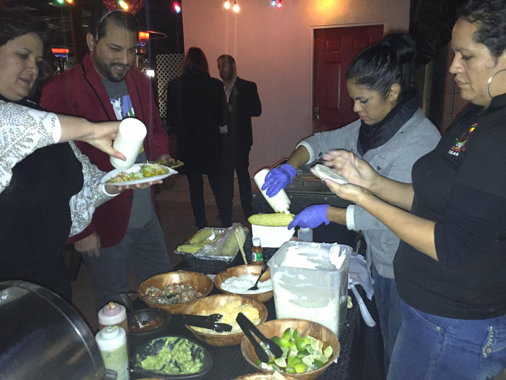 Evening Taco Bar at a Private Residence