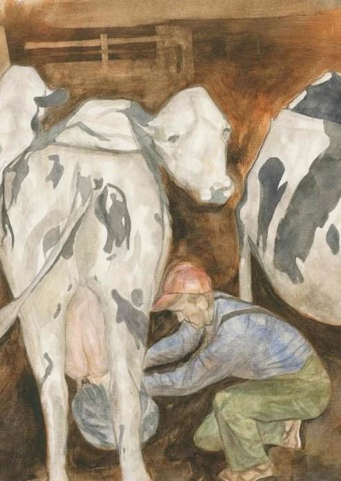 Morning Milking