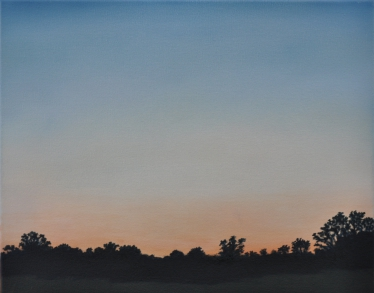 "'Evening Glow'; Oil on canvas; 16""x20"";Lynne Whitney"