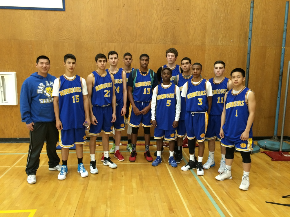 2016 Bay Area Warriros - Gold