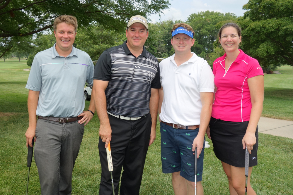 The Yeager Law Firm foursome at the 2015 Combined Campaign Cup