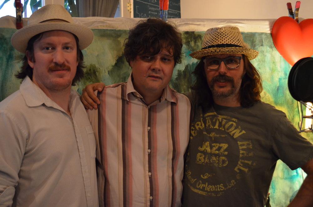Joe Lapinski, Ron Sexsmith & Dave Clark