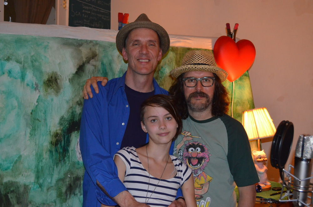Kevin and Iris Breit with Dave Clark