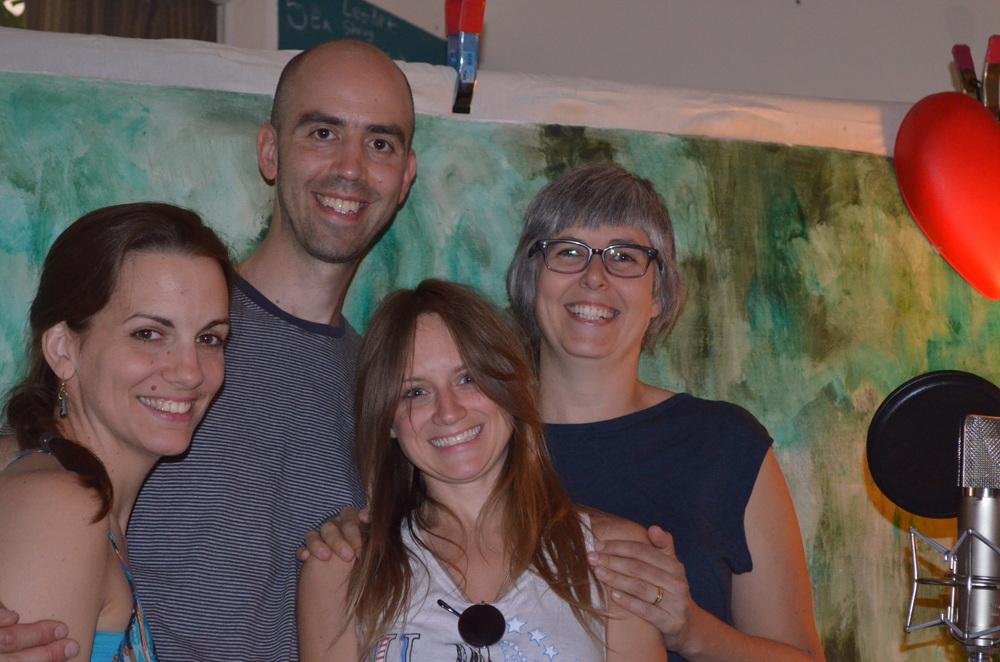 Dani Nash, Rebecca Hennessy, Tania Gill & Michael Herring
