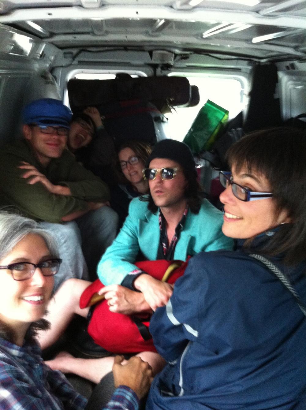Woodshed Tour Van