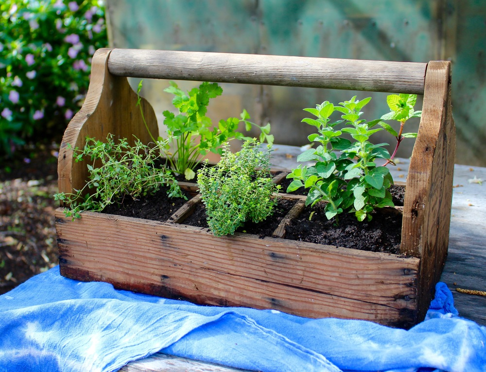 Ordinary Herb Box Planter Part - 14: Simple Herb Planter Box
