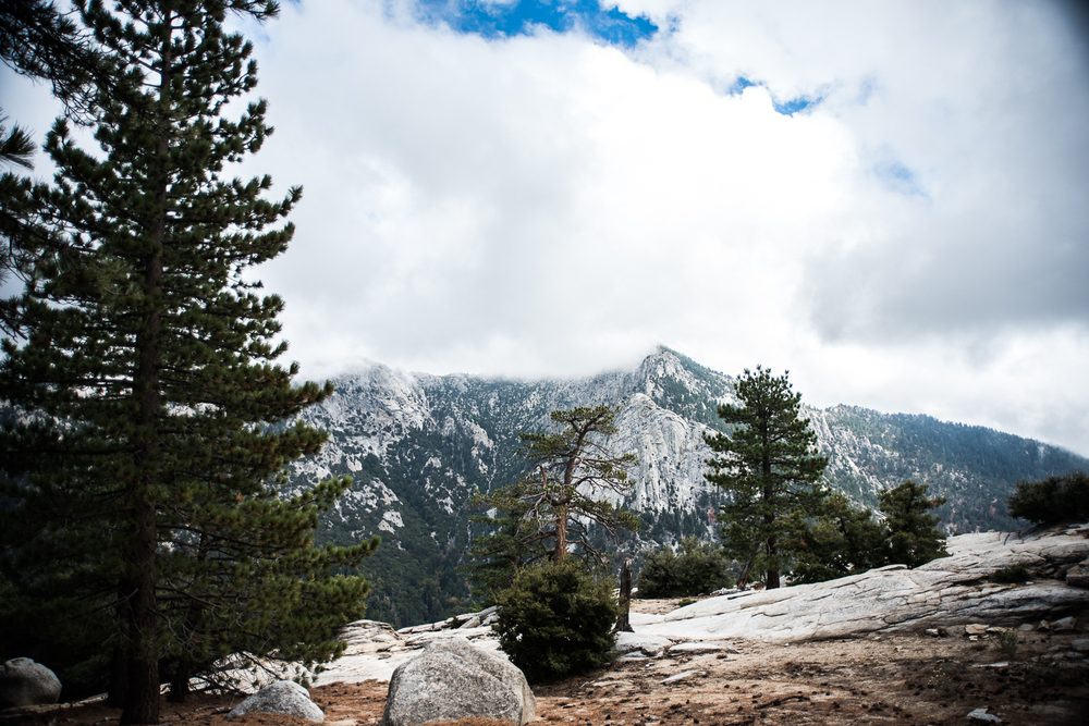 Tahquitz Peak from Suicide Rock