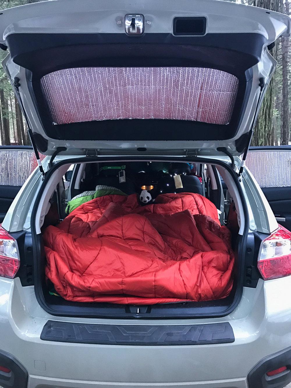 How To Sleep In A Subaru Crosstrek Wandering Always