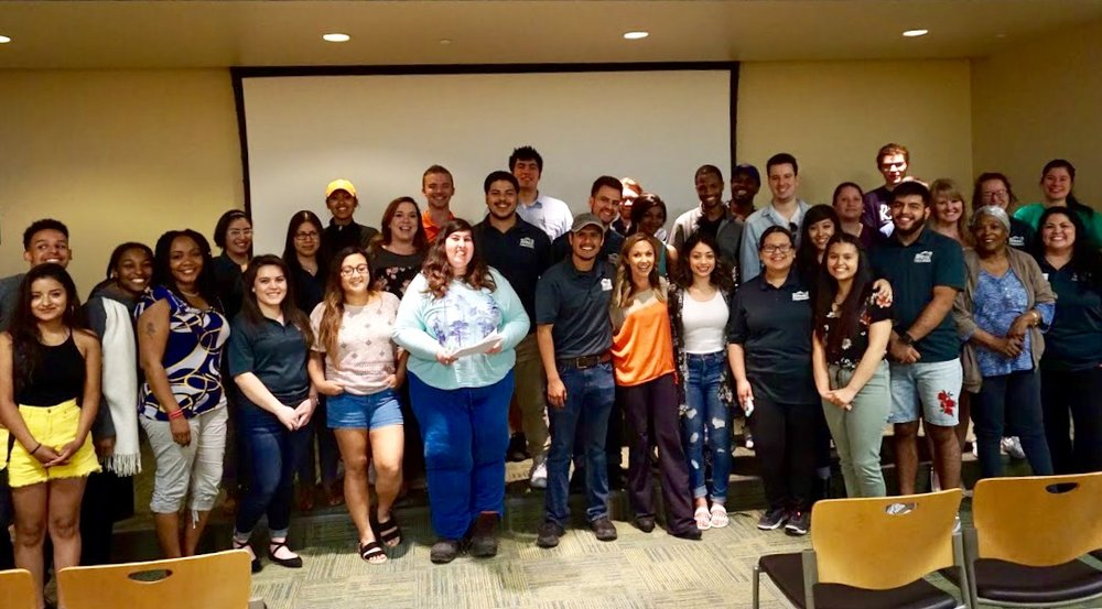 """""""I wasn't sure what to expect, but I found this workshop to be so helpful and really liked how open Lori was. I feel like everyone should get this talk."""" ~ GOAL Y Amigos student at Ivy Tech College"""