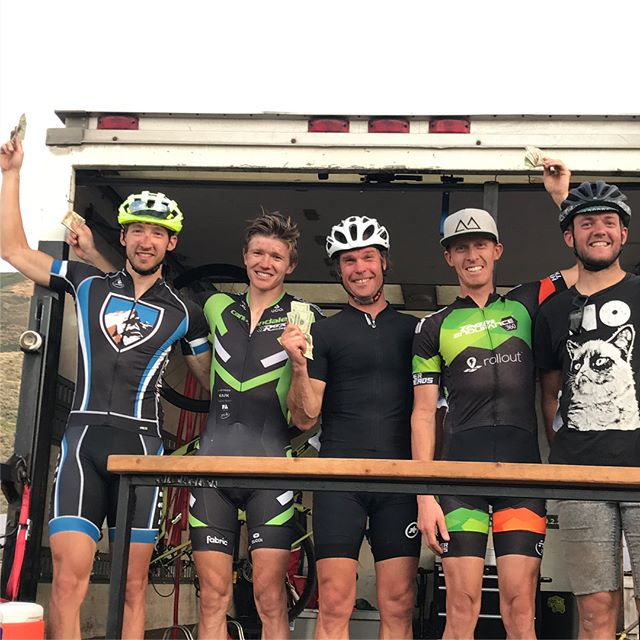 Post 2 of 2 of @euclidtimberframes , @3byoga , @kodiakcakes  and @rollout_app swag as well as the Men's A flight podium that has cash, multiple National Championships and jorts... #ptowncross