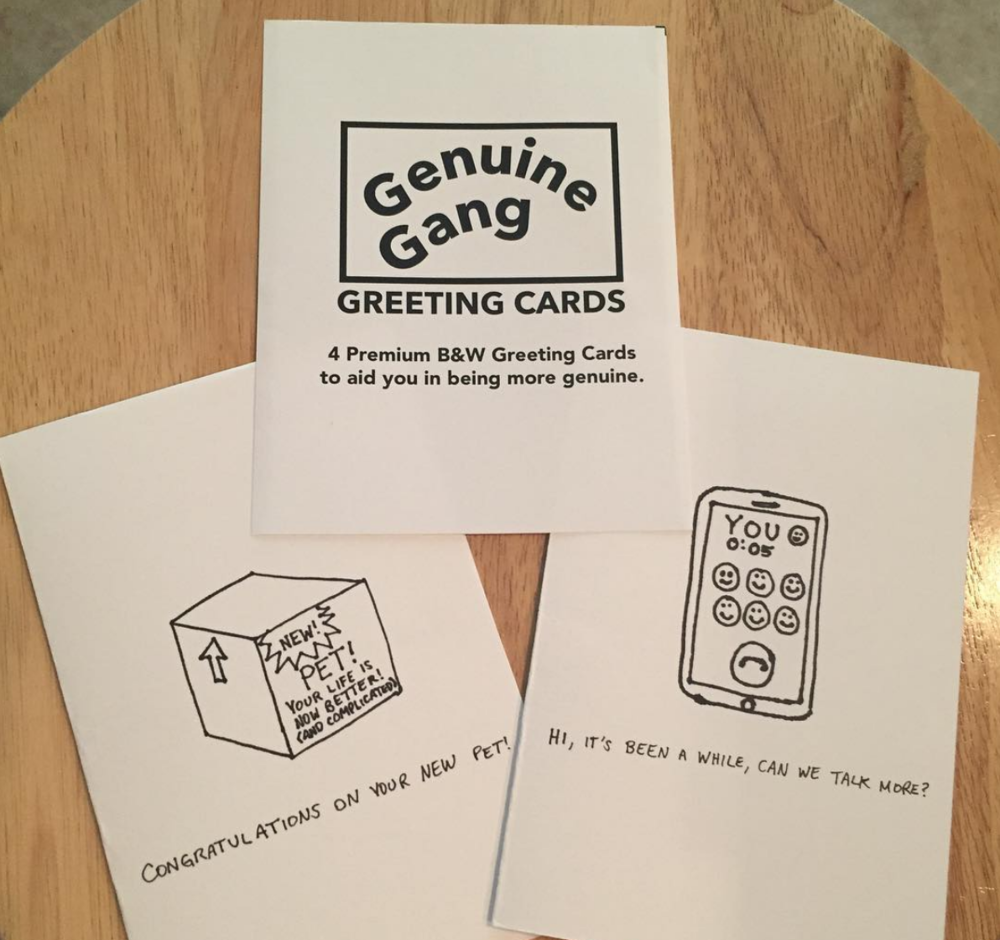 #21 - Greeting Cards to help you be more genuineOctober 2016