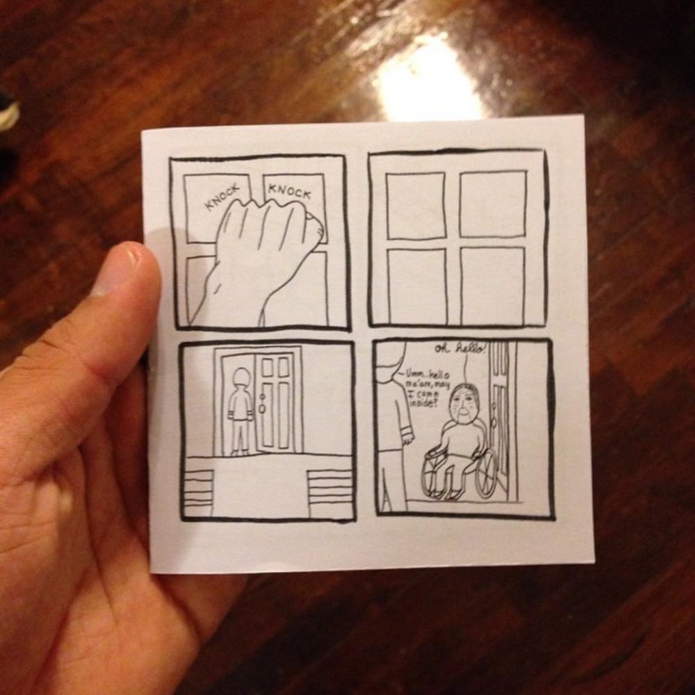 #4 - Small 8 page comicJanuary 2015