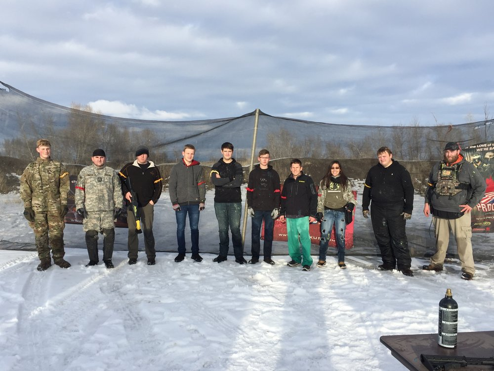Great games. We are open all Winter. This Winter has been mild. Snow is not too deep and we even had some clear areas. Call to organize a game. Gary 208-351-8274