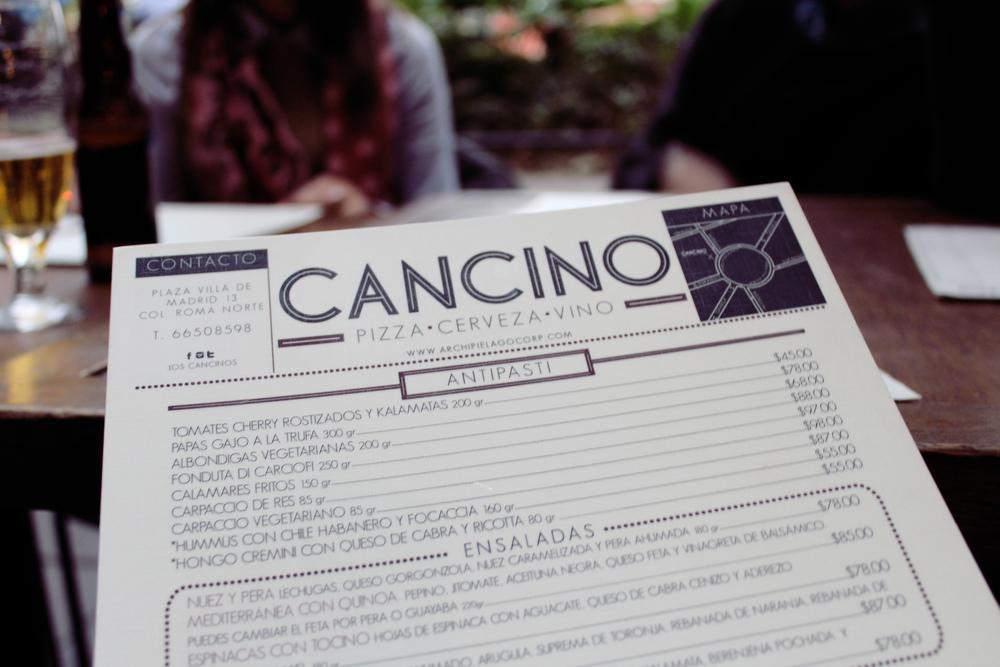 Cancino Pizzería III