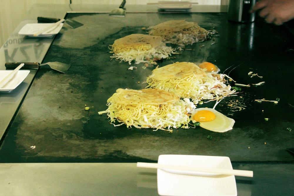 Okonomeyaki en Hiroshima II
