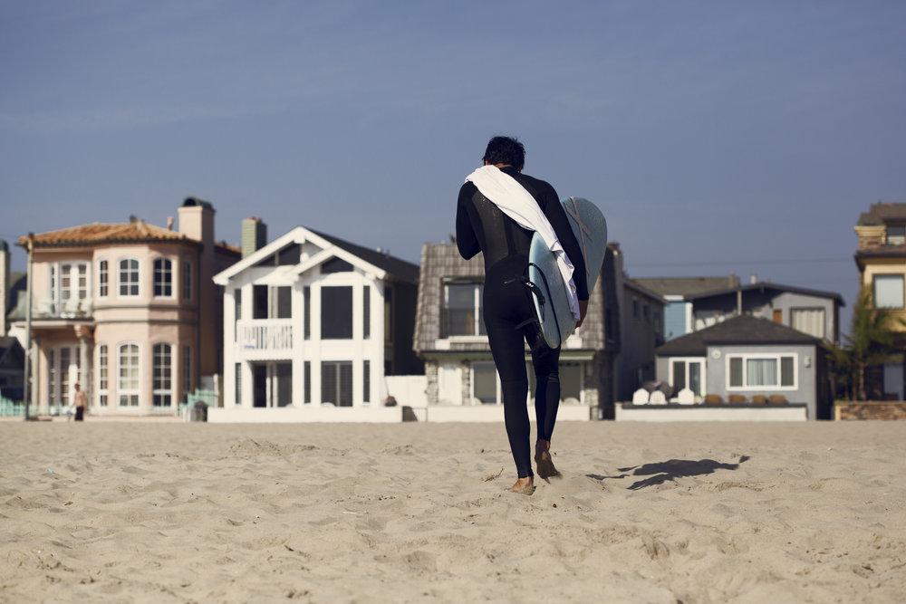 Surfing in L.A. - Foto por Aldo Chacón