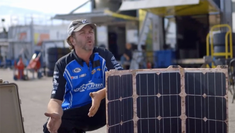 RACE TEAM GOES SOLAR - FEB 2015