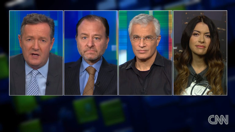CNN:PIERS MORGAN LIVE - JAN 2014