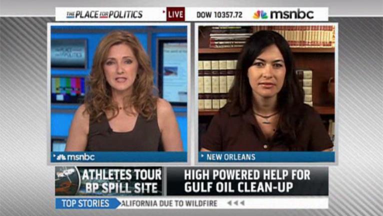 MSNBC LIVE: GULF OIL SPILL - JULY 2010