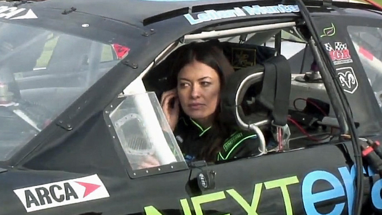 LEILANI TESTS AT DAYTONA - DEC 2009