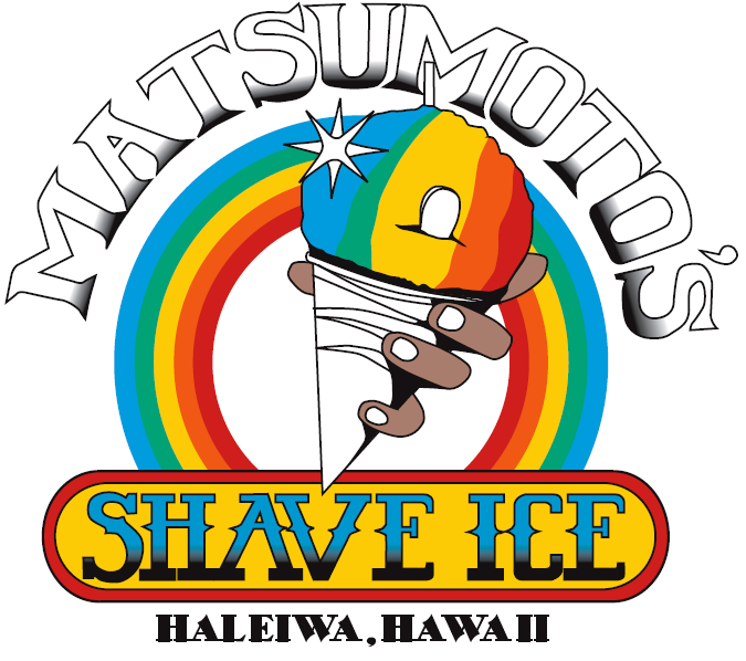 Hawaiian shaved ice signs