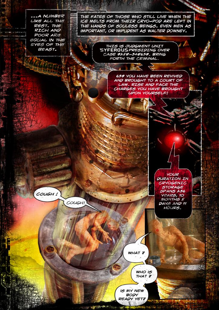 Stasis Comic Page