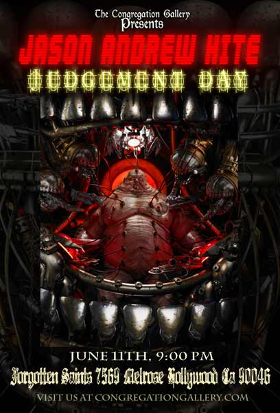 Judgement Day Flyer