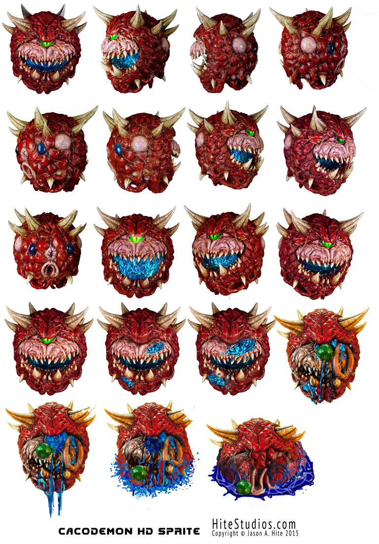 Cacodemon HD sprite