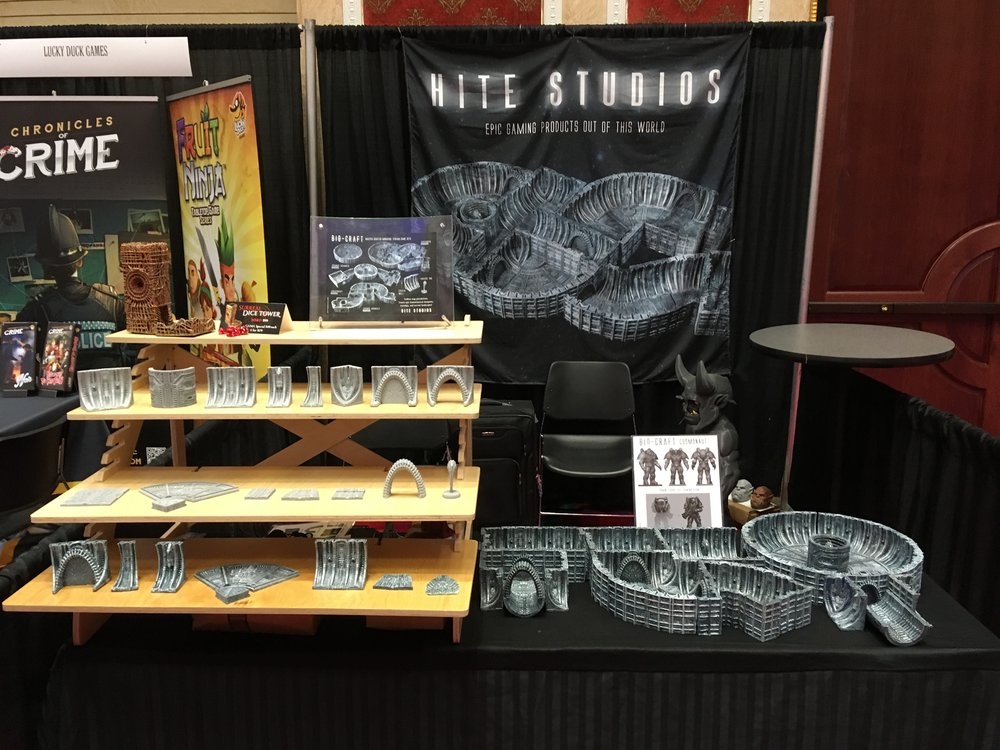 Here is out booth at GAMA