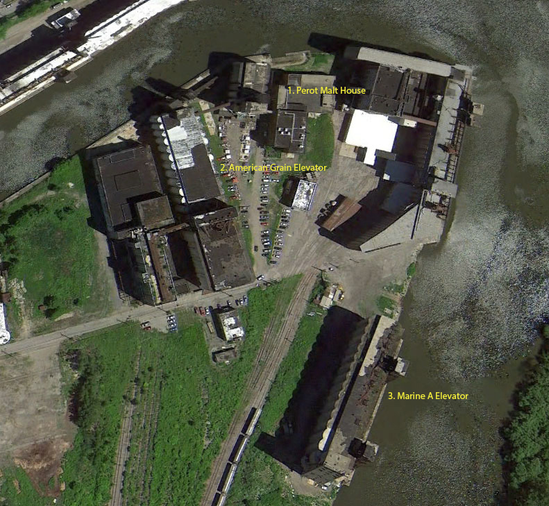 Silo City site