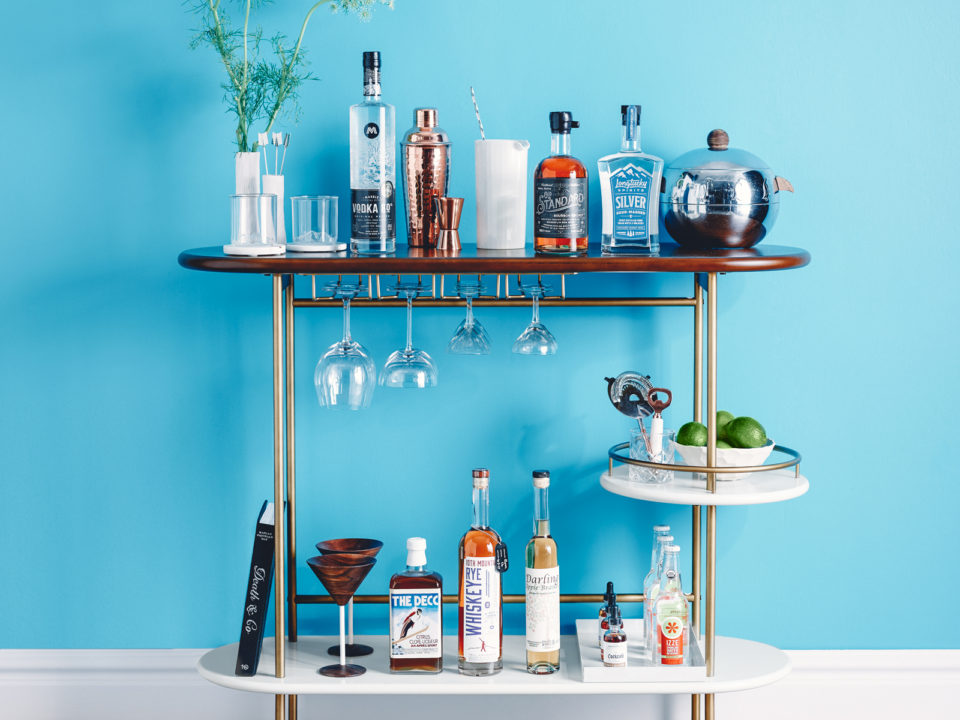 5280 Magazine Essential Bar Cart