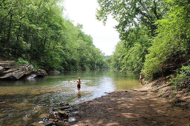 School ends this week, but we started summer early with a visit to our favorite local swimming spot.  #roadtripdad #cahabariver #cahaba #swimalabama #alabamastateparks #bhamoutdoors #instagramBham #explorealabama #roadtripalabama #alabamathebeautiful